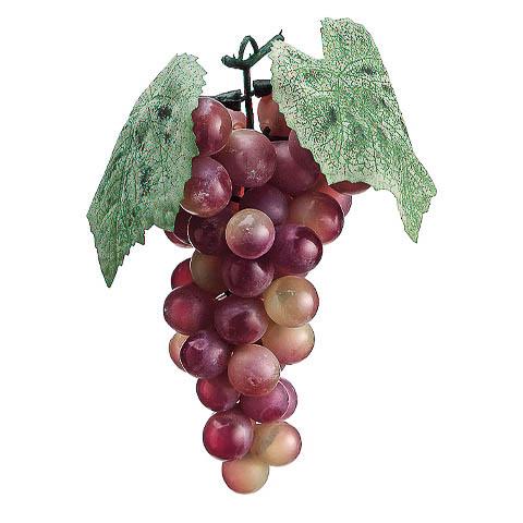 7 Inch Artificial Grape x51 Rose Green