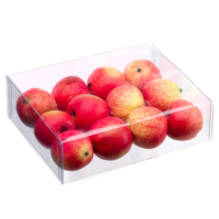 5.5 Inch x 7.5 Inch Box of Apples (12 Per/Box)