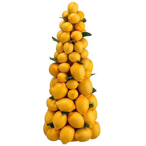 18.5 Inch Lemon Topiary