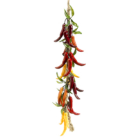 26 Inch Artificial Chili Pepper String Multiple Color
