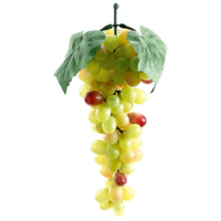 10 Inch Lady Finger Artificial Grape x90 Green Rose
