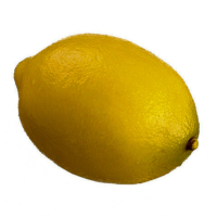 3.3 Inch Faux Lemon