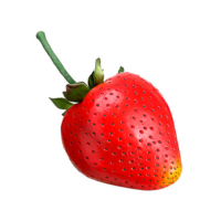 11 Inch Faux Strawberry