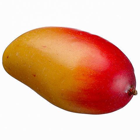 4.2 Inch Artificial Mango Red Green