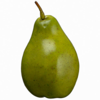 4 Inch Weighted Artificial Pear Green