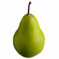3.75 Inch Weighted Fake Pear Green