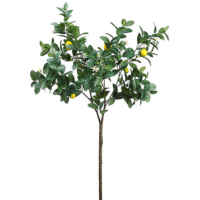 63 Inch Artificial Lemon Branch Yellow