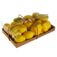 Assorted Faux Lemon (34 Per/Box)