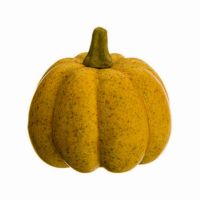 4 Inch Artificial Pumpkin Butterscotch