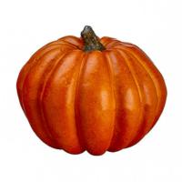 3.5 Inch Faux Pumpkin Terra Cotta