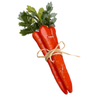 9.5 Inch Artificial Carrot Bundle
