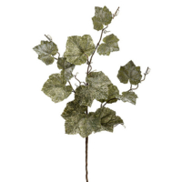 36 Inch Silk Grape Leaf Spray