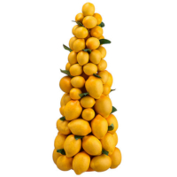 18.5 Inch Lemon Topiary