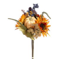 18 Inch Pumpkin/Sunflower/Berry Bouquet