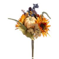 18 Inch Pumpkin/Sunflower/Berry Bouquet