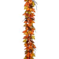 6 Foot Maple Leaf/Pumpkin/Gourd Garland