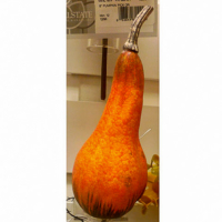 12 Inch Fake Gourd Pick Orange