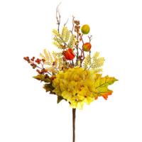 18 Inch Artificial Hydrangea Pick