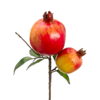 9 Inch Artificial Pomegranate Pick