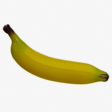 8 Inch Soft PVC Plastic Banana