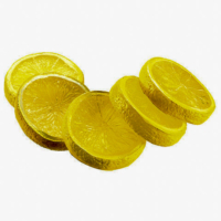 2 Inch Artificial Lemon Slices (5 Per/Bag)