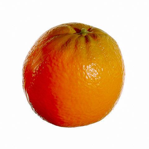 3.25 Inch Plastic Orange