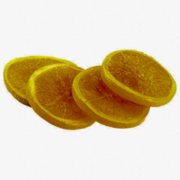 3 Inch Faux Orange Slices (4 Per/Bag)