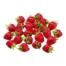 1.75 Inch x 1.75 Inch PVC Plastic Strawberry (24 Per/Bag)