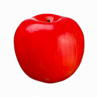 4.1 Inch Weighted Artificial Apple