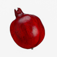 5.5 Inch Weighted Fake Pomegranate