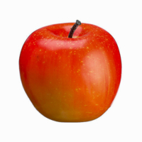 2.9 Inch Weighted Faux Apple Light Red