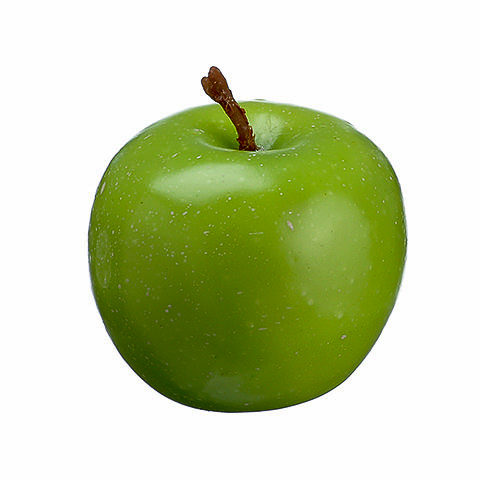 1.55 Inch Weighted Fake Apple Green