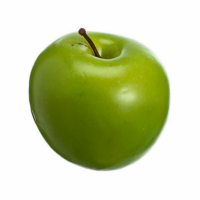 3 Inch Weighted Artificial Apple Green