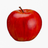 3 Inch Weighted Fake Apple Dark Red