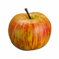 2.5 Inch Weighted Artificial Lady Apple Red Green