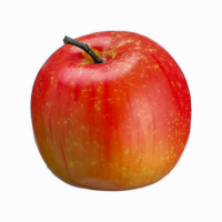 3 Inch Weighted Artificial Apple Red