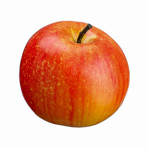 3 Inch Weighted Faux Apple Red Green
