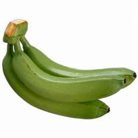 9 Inch Artificial Banana Cluster Green