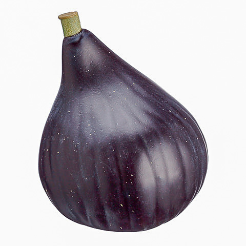 3.25 Inch Weighted Artificial Fig Eggplant