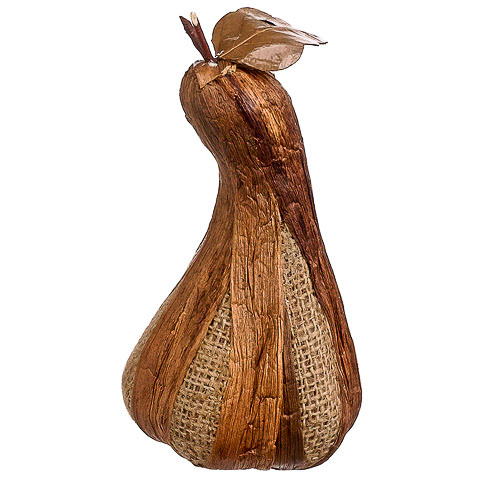 8.5 Inch Weighted Burlap Fake Gourd