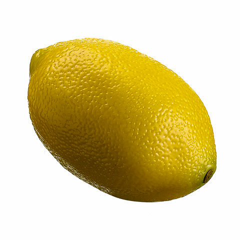 3 Inch Weighted Artificial Lemon