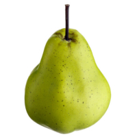 5 Inch Weighted Fake Pear Green