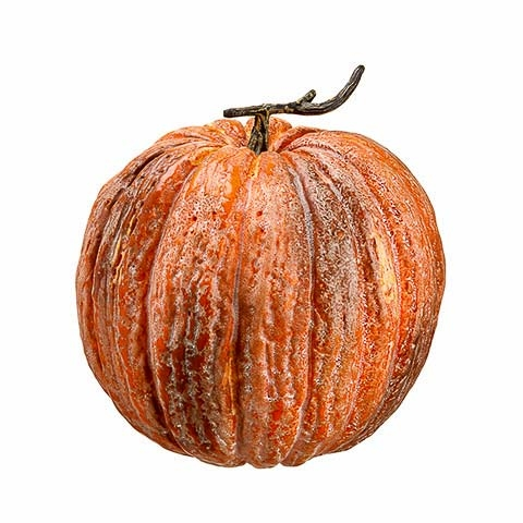 13 Inch Weighted Faux Pumpkin Brick