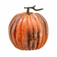 11 Inch Weighted Fake Pumpkin Brick