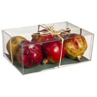 Assorted Weighted Artificial Pomegranate in Box (6 Per/Box)