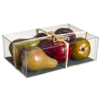 Assorted Weighted Artificial Pear in Box (6 Per/Box)
