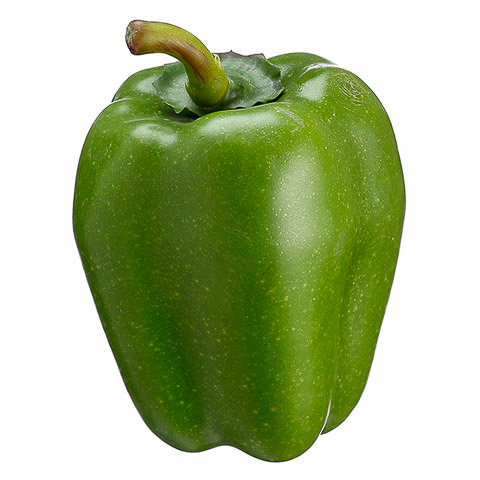 4.7 Inch Weighted Faux Bell Pepper Green