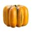 23 Inch Weighted Faux Pumpkin Antique Talisman