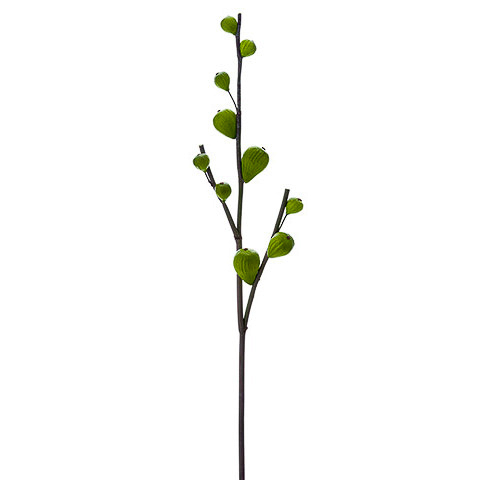 30 Inch Artificial Fig Branch Green