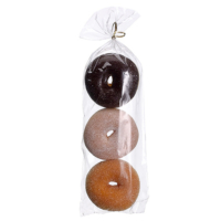 Assorted Artificial Donuts in a Bag (3 Per/Bag)